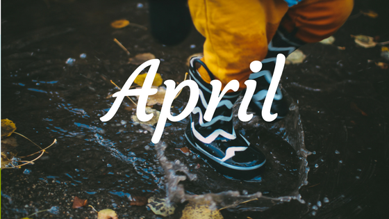 April Wrap Up Banner