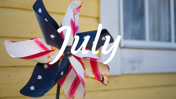 July Wrap Up Banner